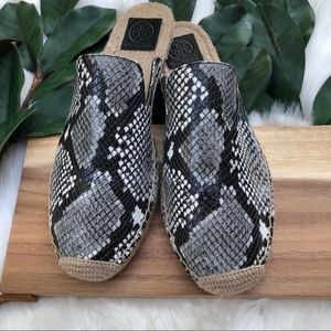 NWT Tory Burch Max Espadrille slides size 11
